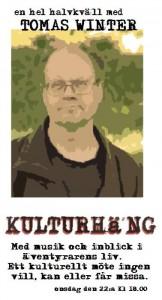 Tomas Winter Kulturkväll